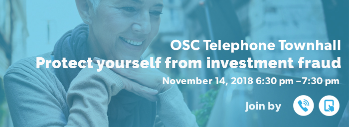 OSC Telephone Townhall