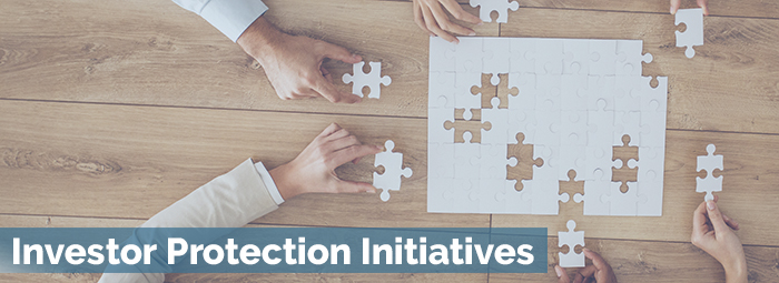 Investor Protection Initiatives