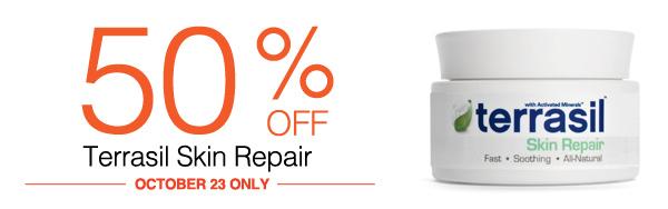 Terrasil Skin Repair Sale - 50% Off