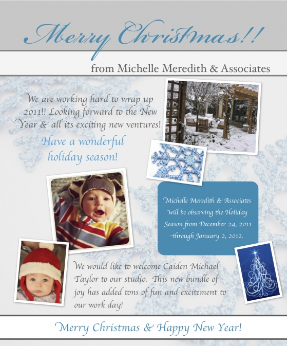 Merry Christmas from Michelle Meredith & Associates
