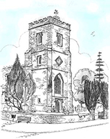 SKETCH of St James the Great, Silsoe