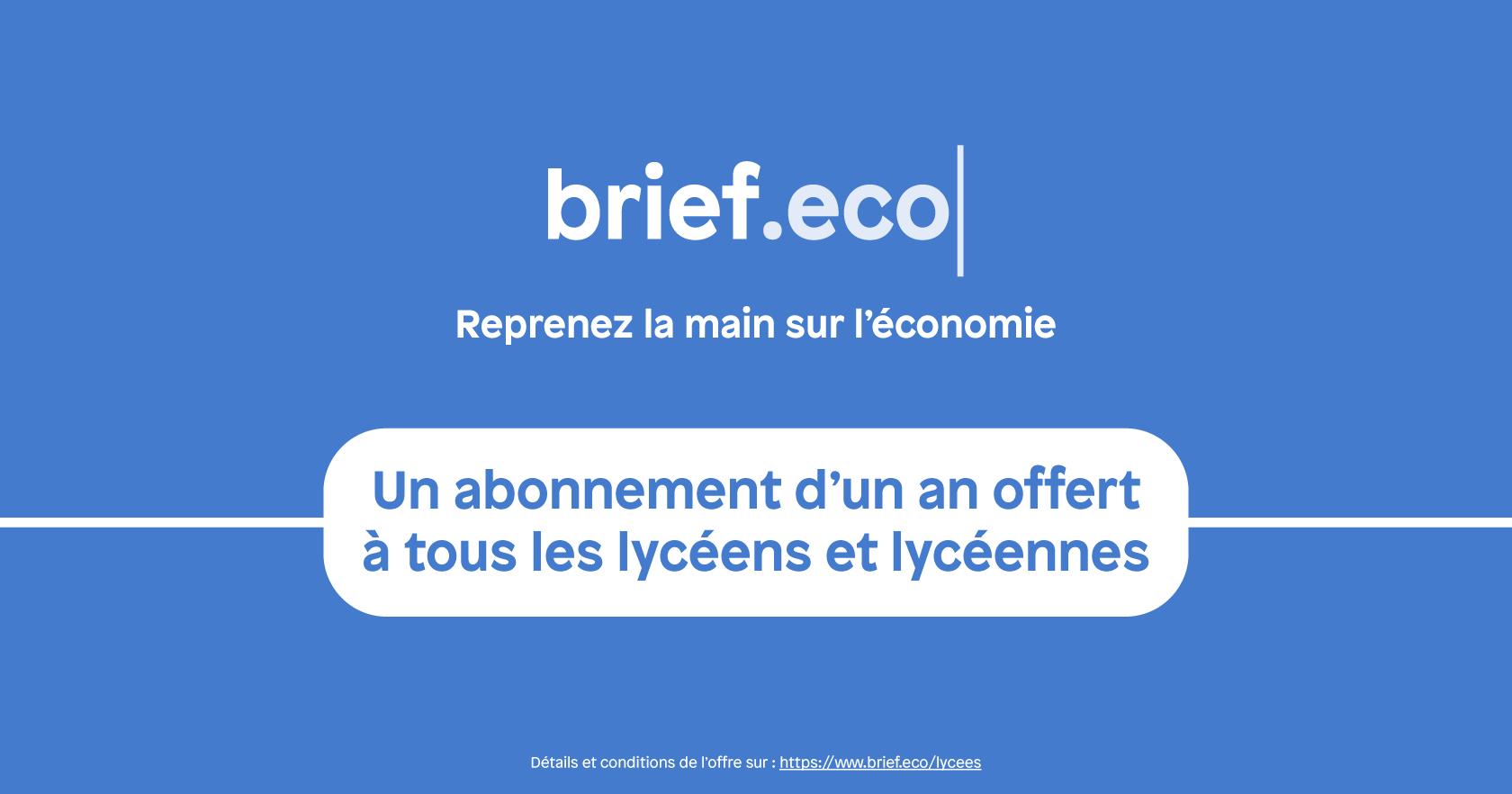 Brief.eco pour les lycéens et lycéennes