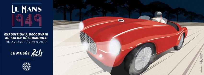 Les 24 heures du Mans 1949 au salon Rétromobile A67d390e-f9a6-4af9-91db-2164decee0b5
