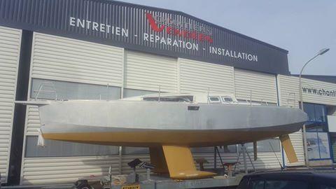 V05-01 SeaLion 36 : arrivée au chantier Vendéen