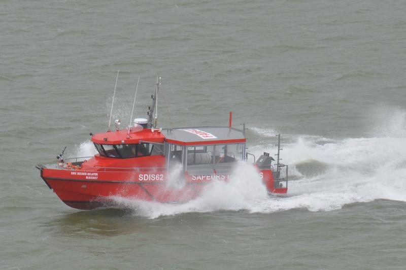 M39-03 SDIS 62 : essais en mer
