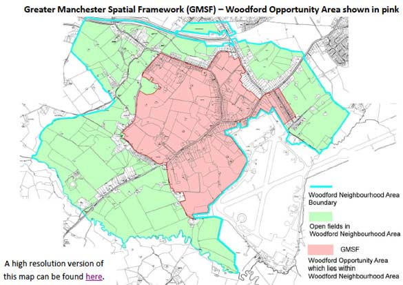 Greater Manchester Spatial Framework Map