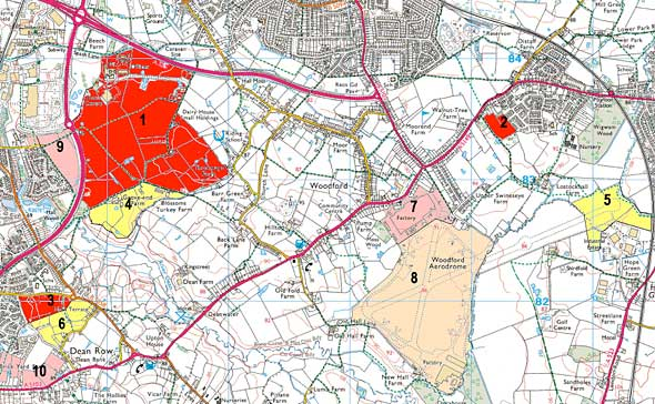 Cheshire East Council's Local Plan Proposals Map - March 2016