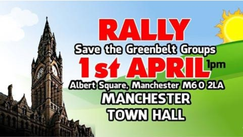 Rally - Save the Greenbelt Groups