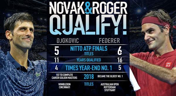 Novak & Roger Qualify!