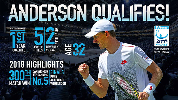 Anderson Qualifies!
