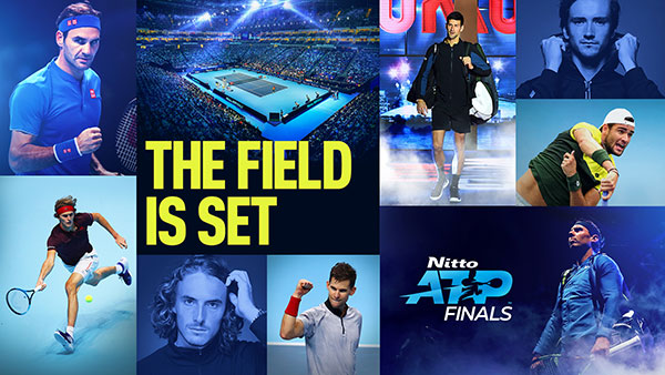 The Field Is Set | 2019 Nitto ATP Finals
