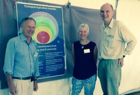 Kerry Cochrane, President, EAAA, Helen Disler of Farming Secrets & Gerhard Grasser, Agrisolutions