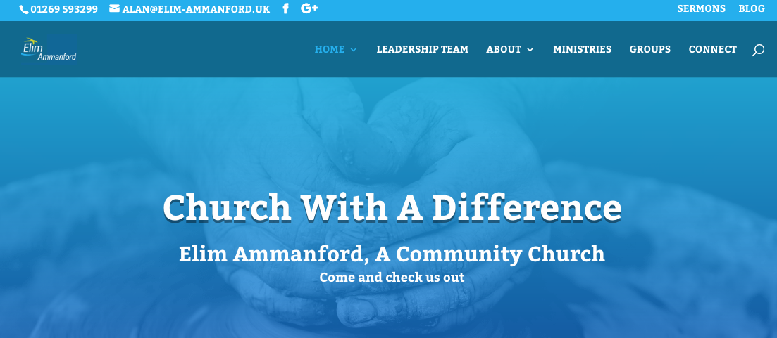Visit the NEW church website
