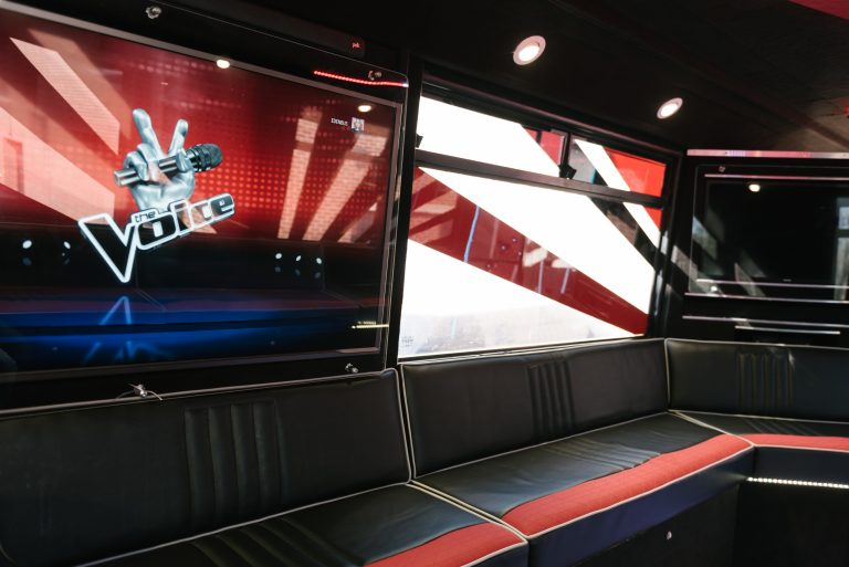 Eden Bus has plenty of room on board