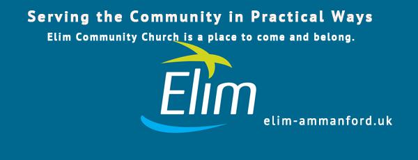 Elim Ammanford Banner