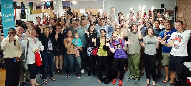 All participants at Brisbane HealthHack 2016
