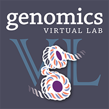 Genomics Virtual Lab logo