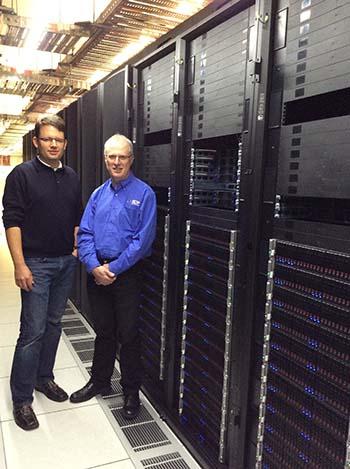 XENON's Werner Scholz and RCC Director Prof David Abramson
