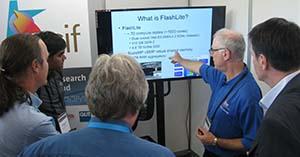 RCC's Prof David Abramson presenting new HPC FlashLite at eResearch Australasia 2015