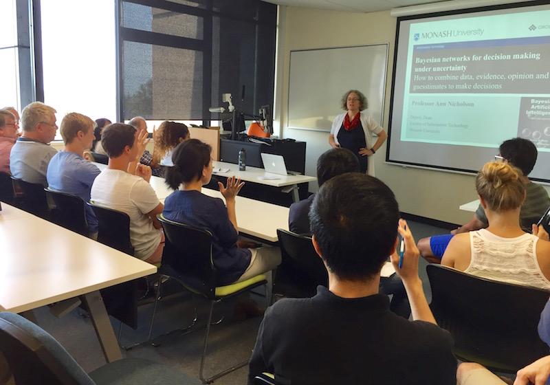 Prof. Ann Nicholson's Bayesian Networks seminar at UQ