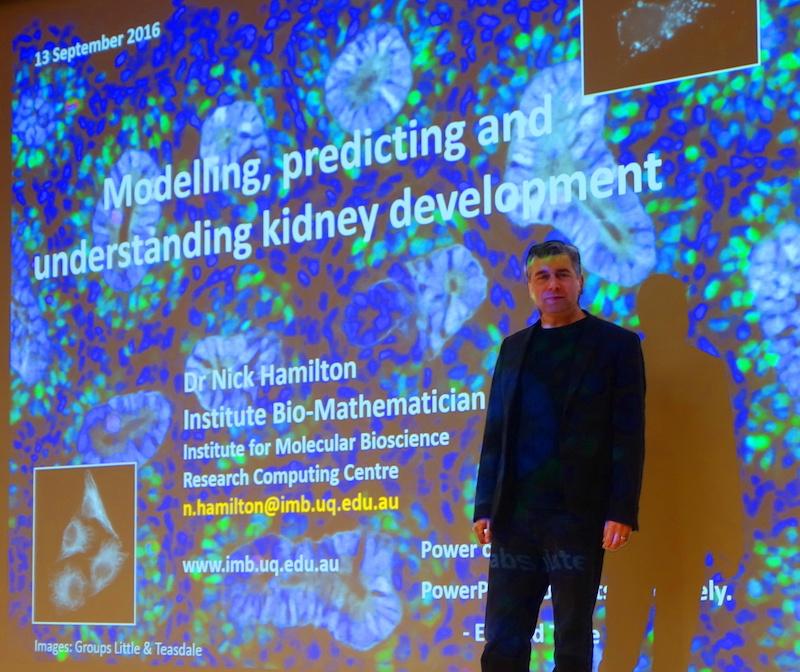 Dr Nick Hamilton at WEHI