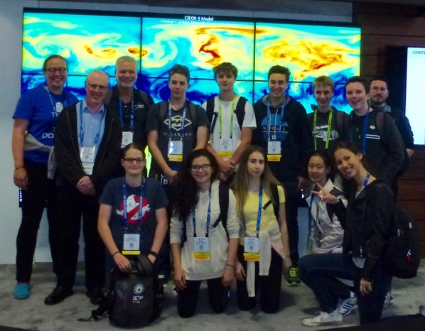 RCC sponsored high school students at SC16