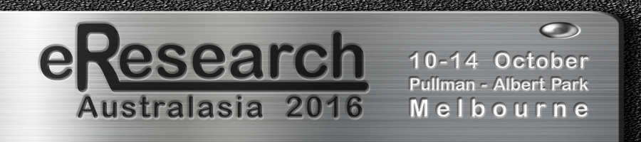 eResearch Australasia 2016 logo
