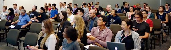 Galaxy seminar audience