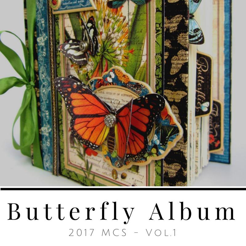 Nature Sketchbook Butterfly Album