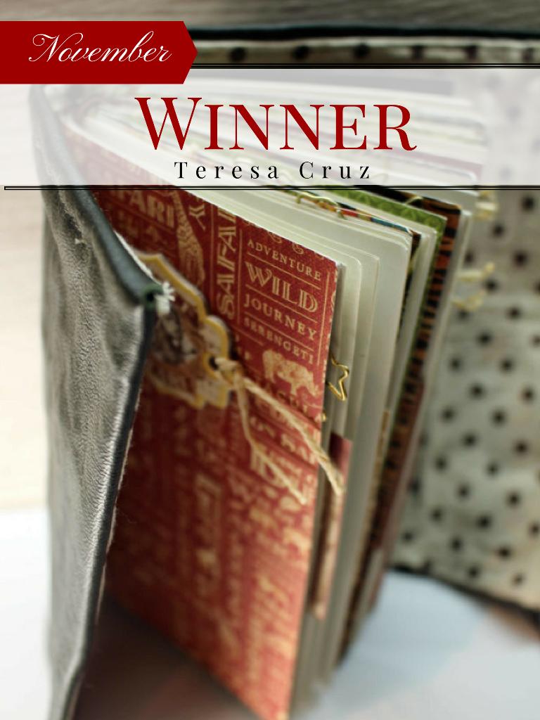 October, Monthly Challenge, Winner, Kathleen Bement White, Graphic 45