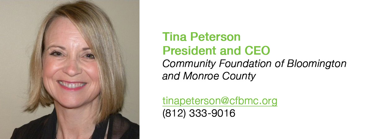 Tina Peterson, President and CEO