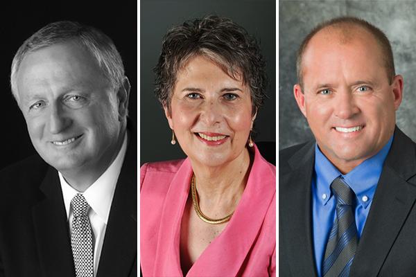 Dennis McGuire, Dottie Frapwell, & Dan Moore