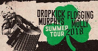 Dropkick Murphys Flogging Molly Tour