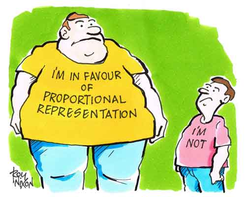 Proportionate