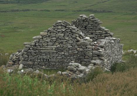 Abandoned Cottage Achill Island