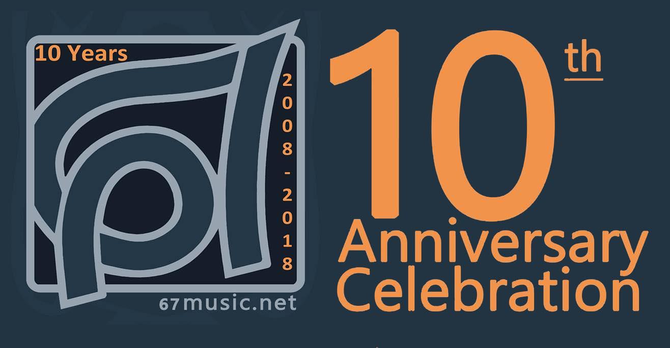 67 music's 10th