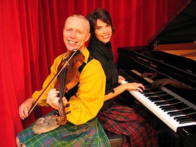 Chris Duncan and Catherine Strutt