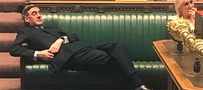 Rees-Mogg Lounging