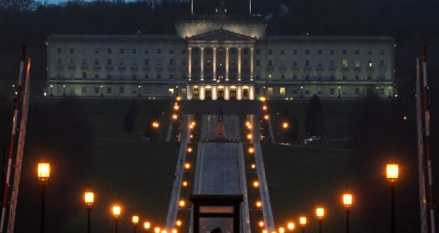 Stormont at Night