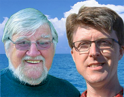 Dick Holdstock and Aaron Clegg