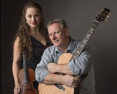 Tony McManus with Julia Toaspern