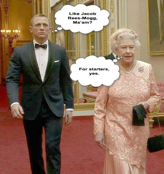007 and the Queen