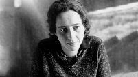 black and white photograph of Johanna Stern