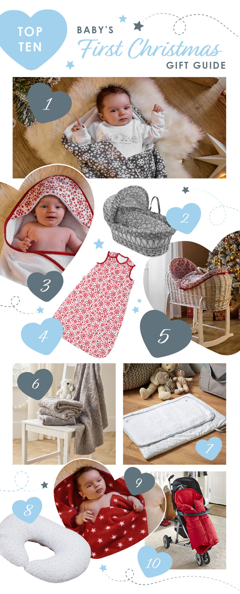 Clair de Lune Baby's First Christmas Gift Guide
