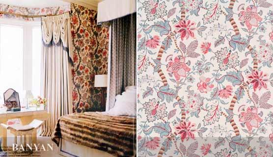 BANYAN linen  by Bennison Fabrics
