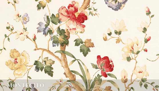 MONTECITO  linen by Bennison Fabrics
