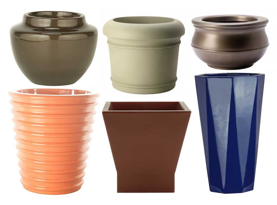 Make Be-Leaves assorted planters