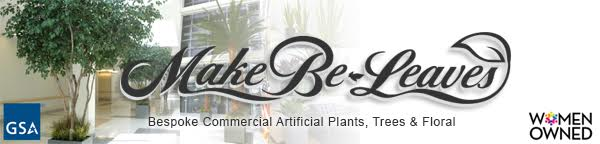 Make Be-Leaves - Custom artificial trees, preserved palms, silk plants, floral arrangements and plantscapes for the commercial interior design industry
