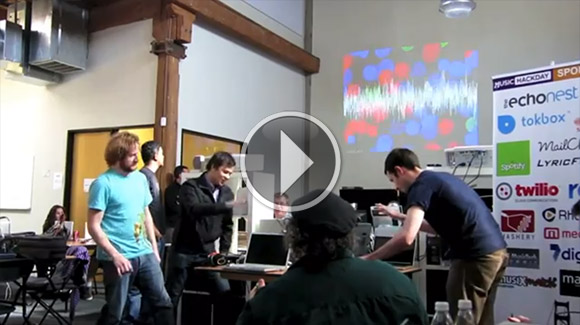 Orchestra hack with Leap Motion Controller