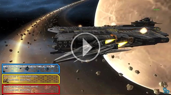 Mohydine's spaceship-flying game